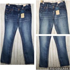 Maurice's Ellie Jeans Straight Fit Slim Boot NWT